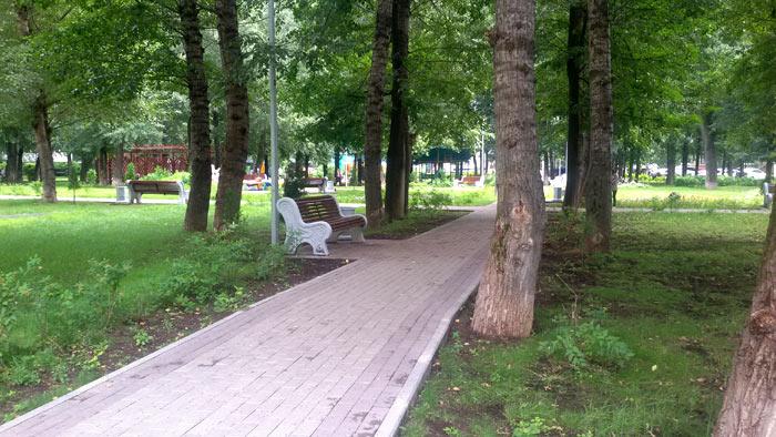 парковая зона, придомовая территория