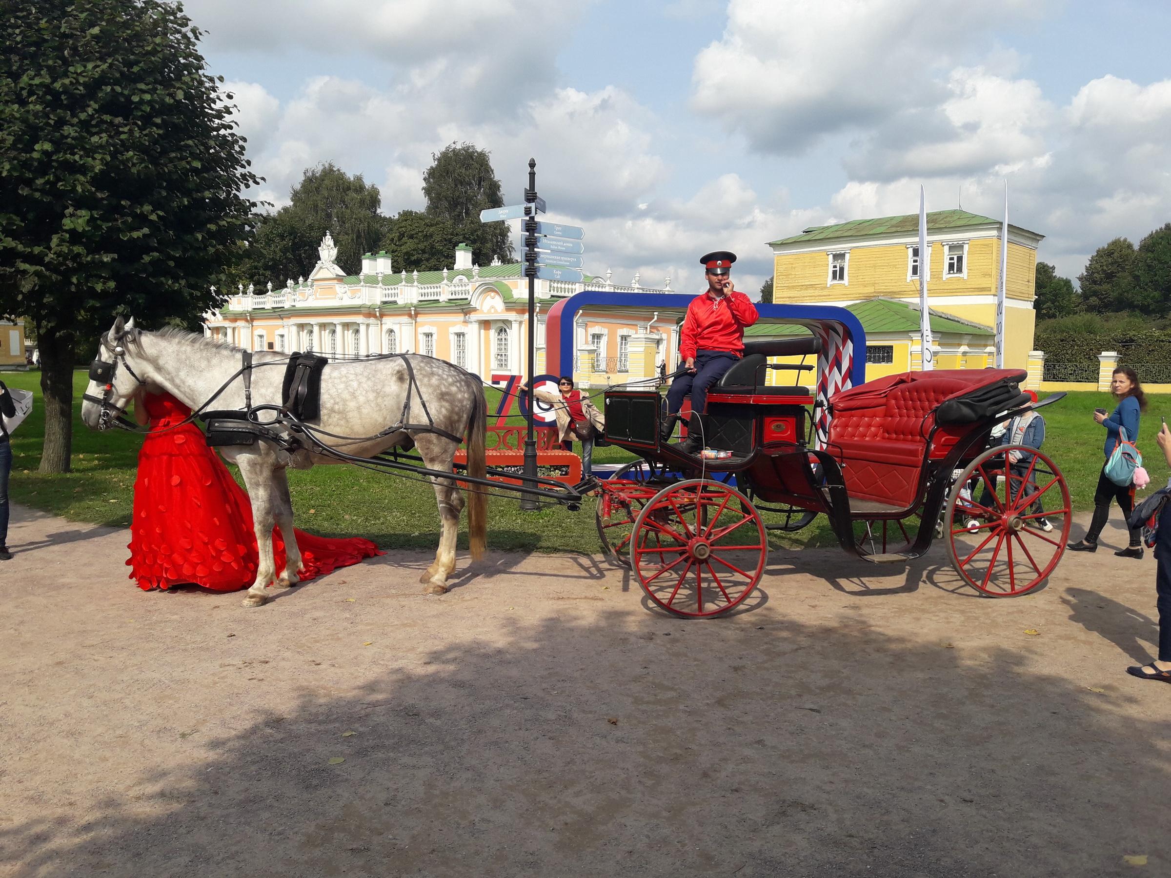 фотосессия в День города в парке Кусково 2017